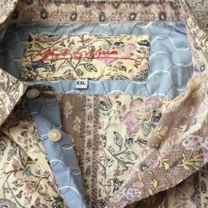 Robert Graham button down. XXL.